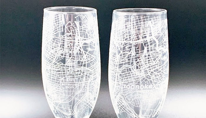 Unique Champagne Flutes from Well Told