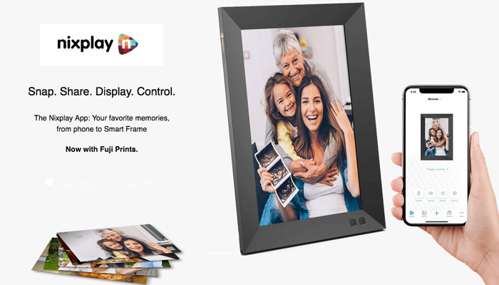 Stay Connected with Nixplay Smart Photo Frame